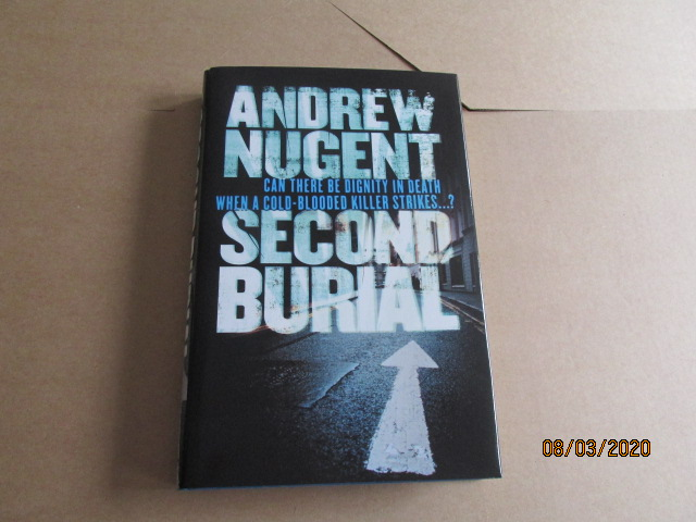 Image for Second Burial First Edition Hardback in Dustjacket