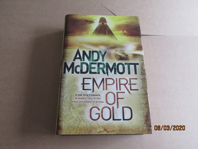 Image for Empire Of Gold Signed First-Lined Dated first Edition Hardback in Dustjacket