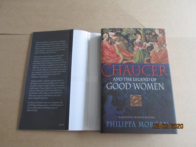 Image for Chaucer and the Legend Of Good Women Unread Signed First Edition with 2 Different Jackets