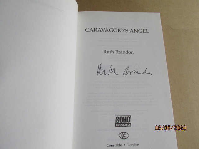 Image for Caravaggio's Angel Signed First Edition Hardback in Dustjacket