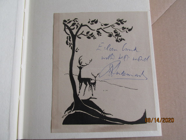 Image for The White Leaves of Death Signed First Edition Hardback in Dustjacket