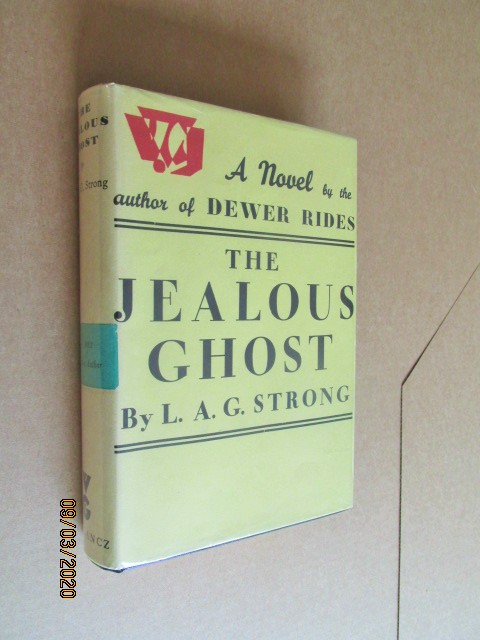 Image for The Jealous Ghost Signed Numbered First Edition Hardback in Original Dustjacket