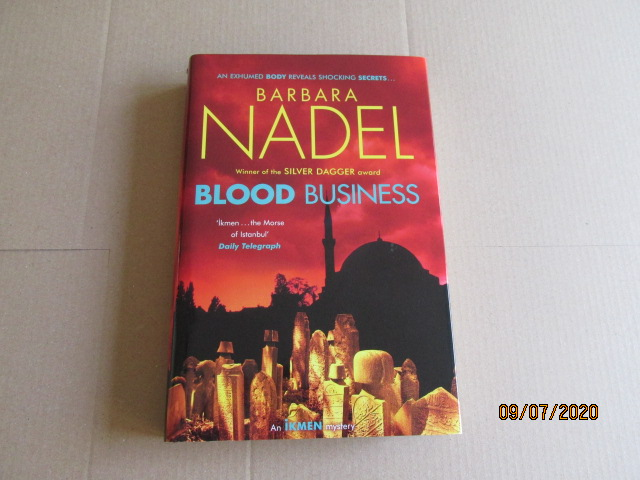 Image for Blood Business First Edition Hardback in Dustjacket