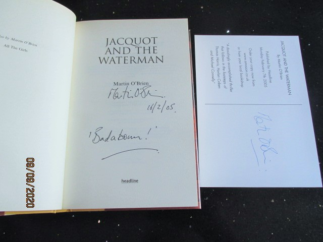Image for Jacquot and the Waterman Signed First Edition Plus Signed Postcard