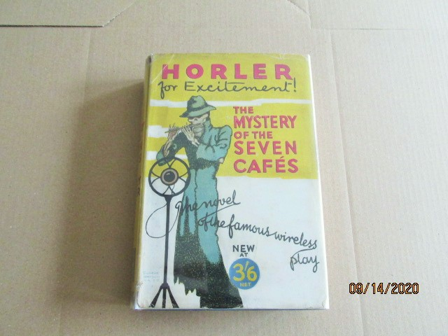 Image for The Mystery of the Seven Cafes First Edition Hardback in Original Dustjacket