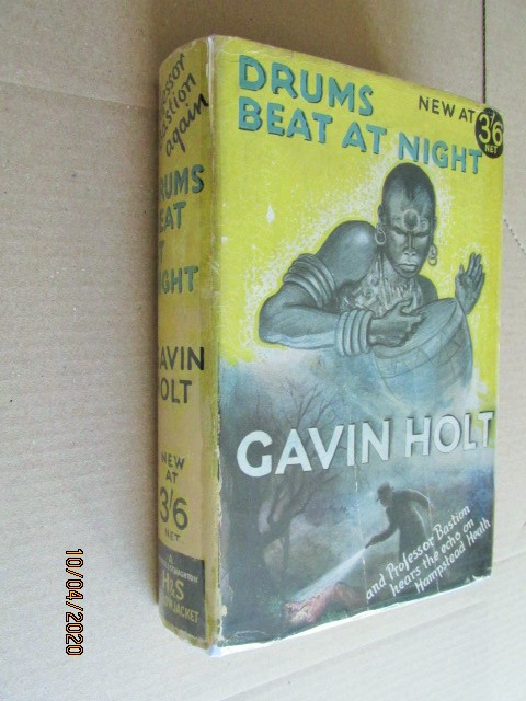 Image for Drums Beat at Night First Edition Hardback in Original Dustjacket