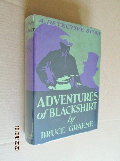 Image for Adventures of Blackshirt US First Edition Hardback in Original Dustjacket