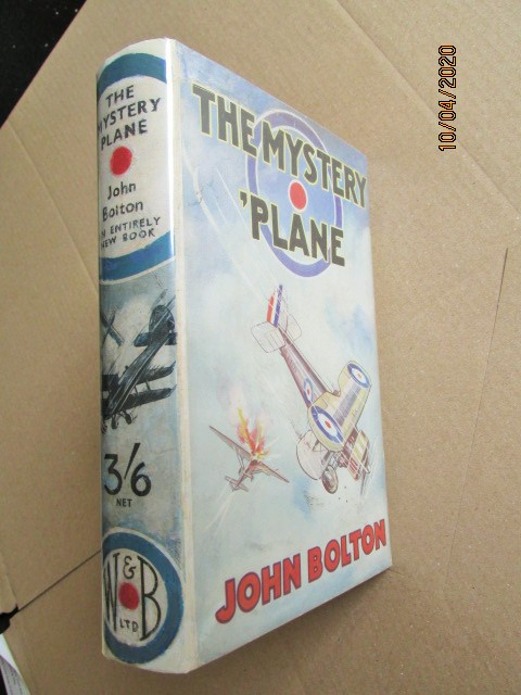 Image for The Mystery Plane First Edition Hardback in Original Dustjacket