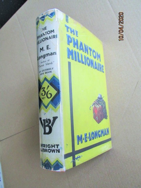 Image for The Phantom Millionaire Signed First Edition Hardback in Original Dustjacket