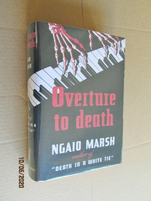Image for Overture to Death US first Edition in Facsimile Dustjacket