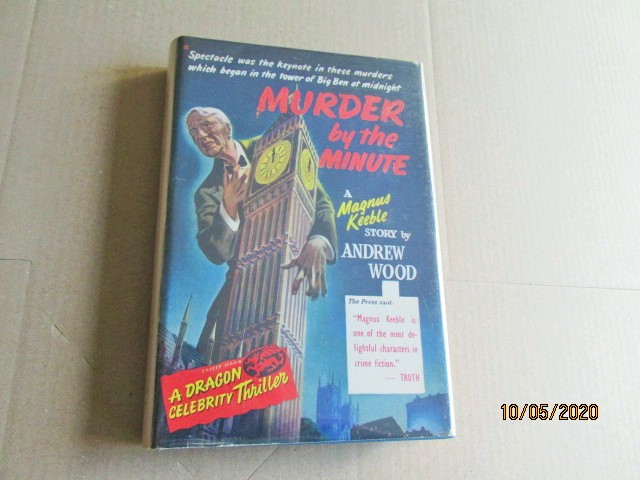 Image for Murder By the Minute First Edition Hardback in Dustjacket