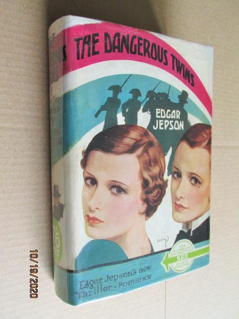 The Dangerous Twins First Edition in Dustjacket