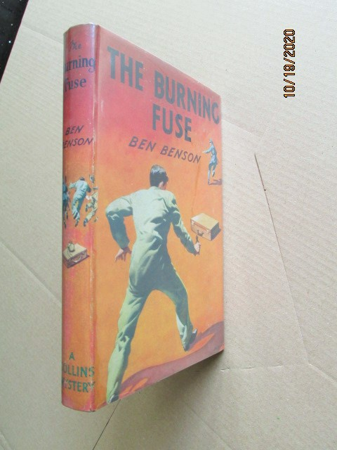 Image for The Burning Fuse First Edition Hardback in Dustjacket