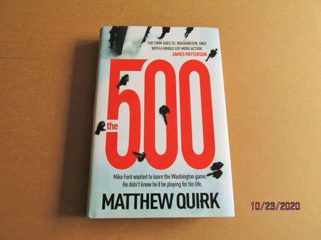 Image for The 500 First Edition Hardback in Dustjacket