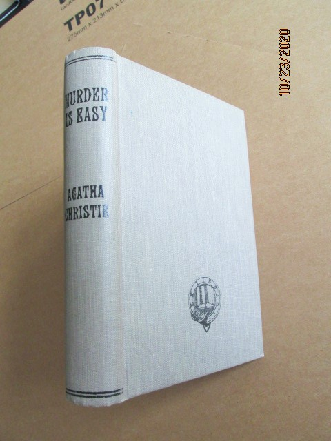 Image for Murder is Easy 1939 Collins Pages in a Library Binding