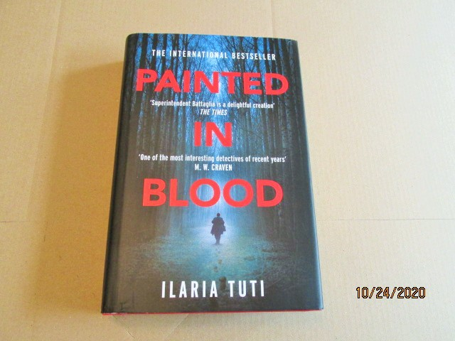 Image for Painted in Blood First Edition Hardback in Dustjacket