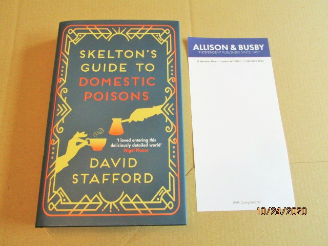 Image for Skelton's Guide to Domestic Poisons First Edition Hardback in Dustjacket