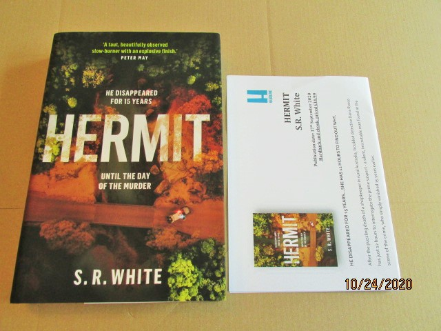 Image for Hermit First Edition Hardback in Dustjacket Plus Publicity Letter