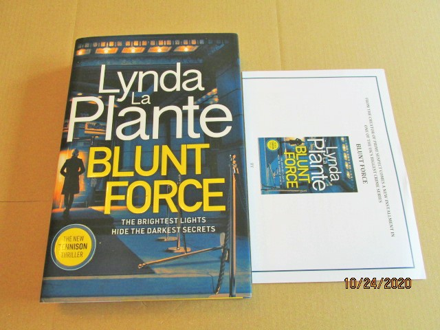 Image for Blunt Force First Edition Hardback in Dustjacket Plus Publicity Letter