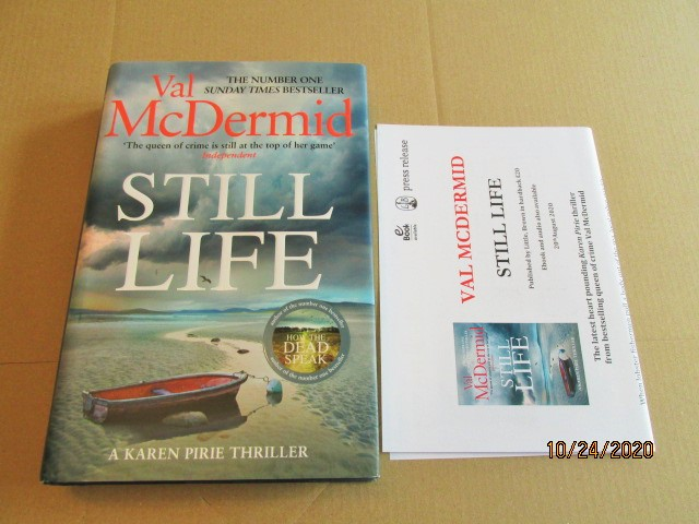Image for Still Life First Edition Hardback in Dustjacket Plus Publicity Letter