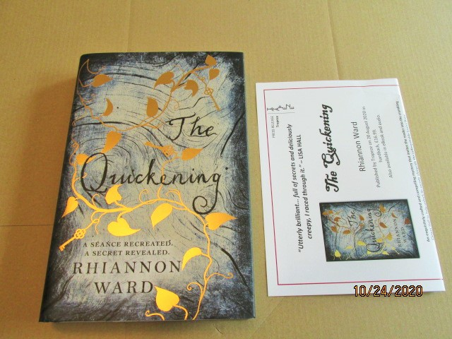 Image for The Quickening First Edition Hardback in Dustjacket Plus Publicity Letter