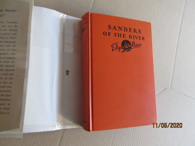 Image for Sanders of the River First Edition Hardback in Original Dustjacket Plus Rare Wrap-band