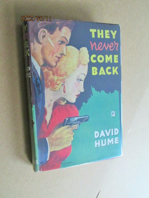Image for They Never Come Back First Edition Hardback in Dustjacket