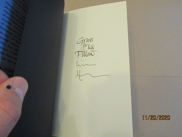 Image for Grass for His Pillow Signed First Edition Hardback in Dustjacket
