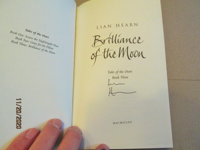 Image for Brilliance of the Moon Signed First Edition Hardback in Dustjacket