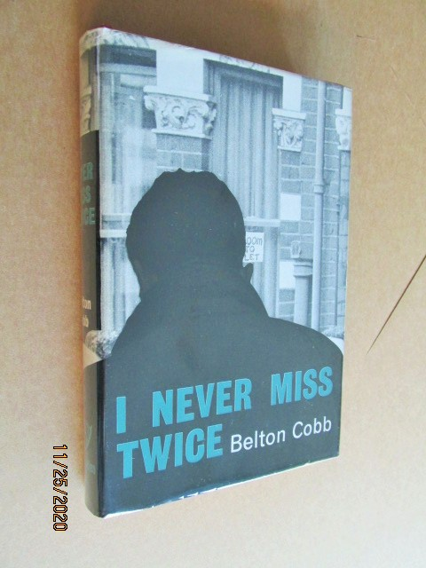 Image for I Never Miss Twice First Edition Hardback in Dustjacket