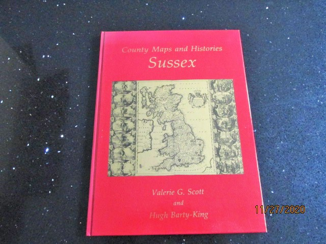 Image for County Maps and Histories: Sussex (County Maps & Histories Series)