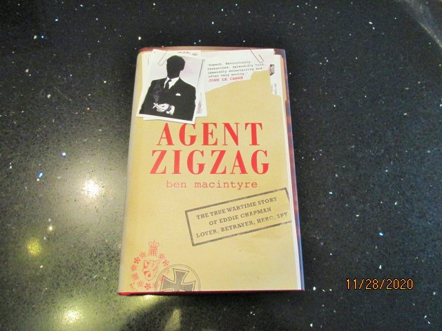 Image for Agent Zigzag First Edition Hardback in Dustjacket