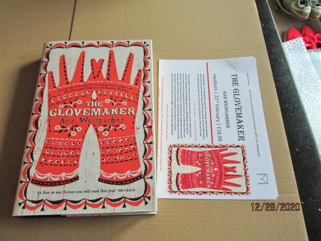 Image for The Glovemaker First Edition Hardback in Dustjacket Plus Publicity Letter