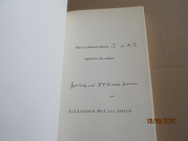 Image for The Sunday Philosophy Club Signed Lettered Proof Copy