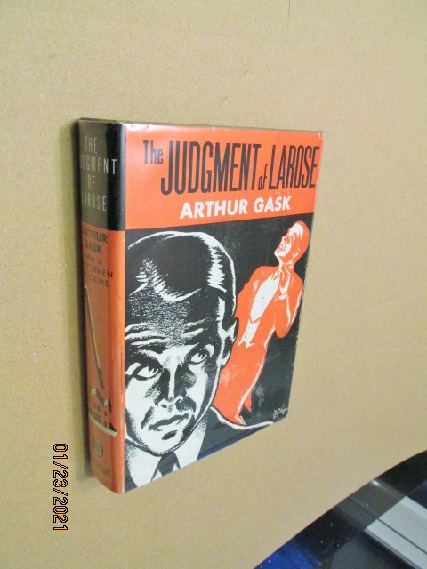 Image for The Judgement of Larose First Edition Hardback in Original Dustjacket