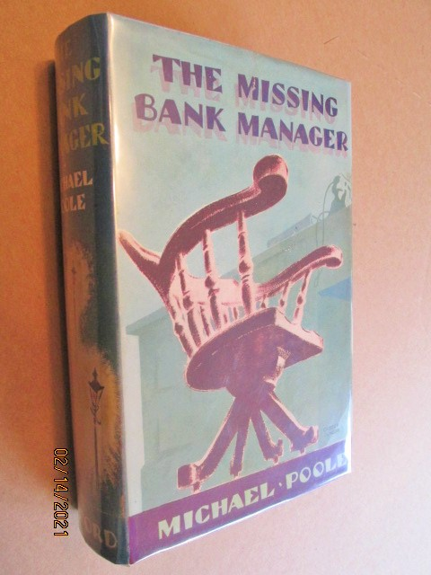 Image for The Missing Bank Manager first Edition Hardback in Original Dustjacket
