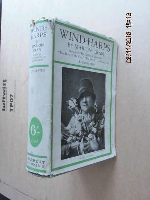 Image for Wind-Harps 1929 Illustrated Edition in Jacket