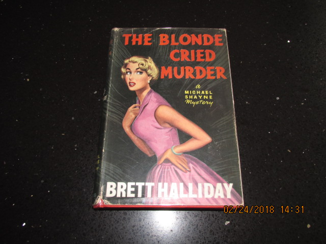 Image for The Blonde Cried Murder