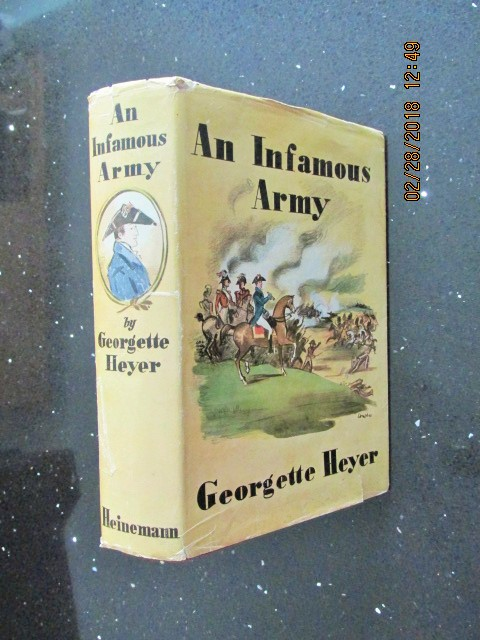 Image for An Infamous Army [ 1937 First Printing in Dustjacket ]