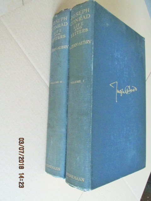 Image for Joseph Conrad Life and Letters 1927 2 Volume Hardback Set