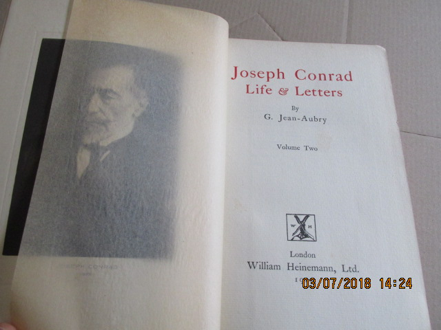 Image for Joseph Conrad Life and Letters [ 1927 2 Volume Set ]