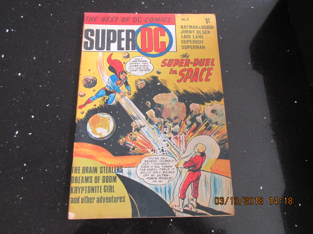 Image for The Best of DC Comics Super DC Number 9