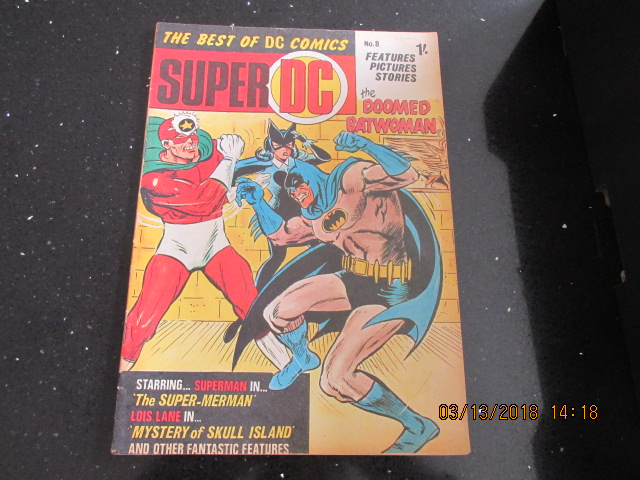 Image for The Best of DC Comics Super DC Number 8