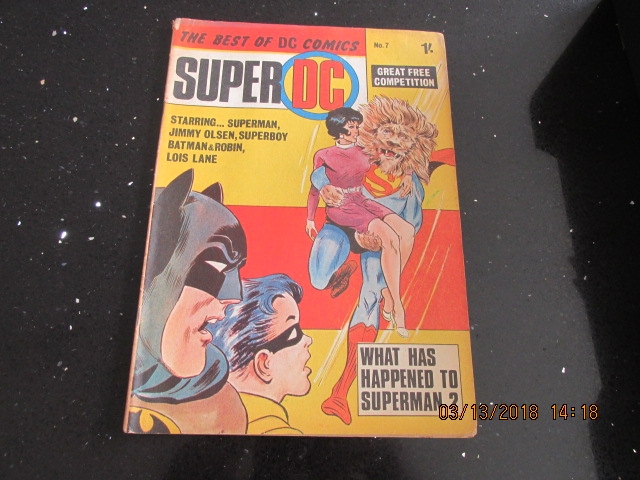 Image for The Best of DC Comics Super DC Number 7