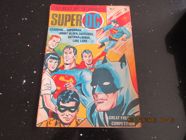 Image for The Best of DC Comics Super DC Number 4