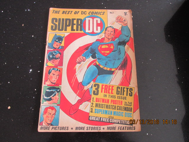Image for The Best of DC Comics Super DC Number 1
