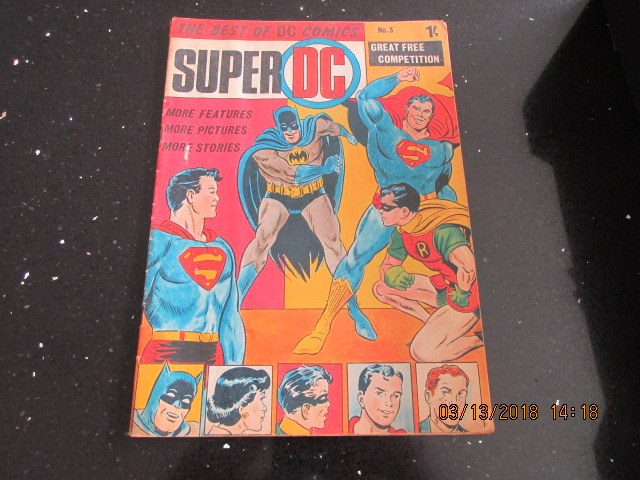 Image for The Best of DC Comics Super DC Number 3